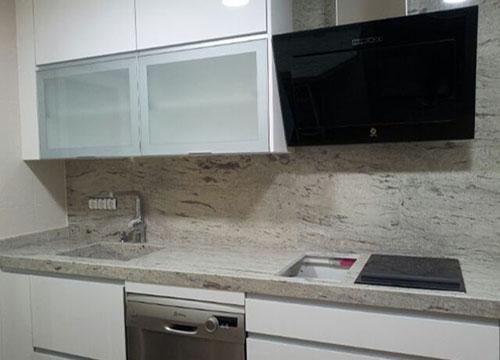 Encimeras de cocina madrid - Cocinas con encimera de granito ...